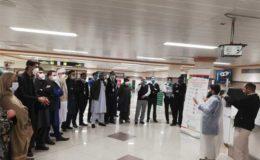 پشاور آنے والی 2 بین الاقوامی پروازوں کے 39 مسافر کورونا مریض نکل آئے