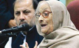 خان عبدالولی خان کی اہلیہ بیگم نسیم ولی خان انتقال کر گئیں