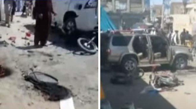 چمن کے بوغرہ چوک پر دھماکا، 6 افراد جاں بحق