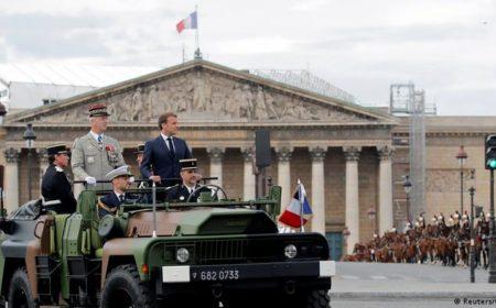 فرانس: 'خانہ جنگی' کی دھمکی پر حکومت کا سخت ردعمل