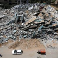 Gaza Israeli Bombing