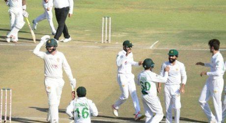 پاکستان نے دوسرا ٹیسٹ بھی اننگز اور 147 رنز سے جیت لیا، زمبابوے کو وائٹ واش