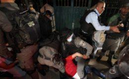 اسرائیلی فوج اور فلسطینیوں میں تصادم میں متعدد افراد زخمی