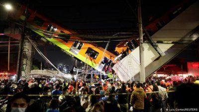 Mexico Metro Rail Crash