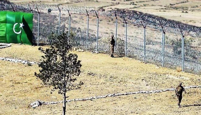 ژوب میں پاک افغان سرحد پر دہشتگرد حملہ، ایف سی کے 4 جوان شہید
