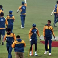 Pakistani Practice Session