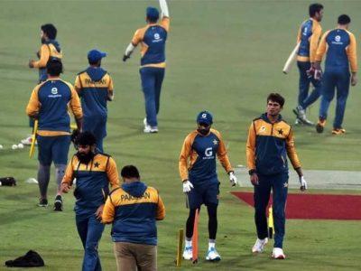 Pakistani Practice Session