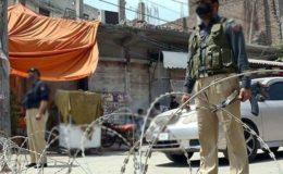 پشاور؛ تاجروں نے حکومت کے جاری کردہ لاک ڈاؤن نوٹیفکیشن کو مسترد کر دیا