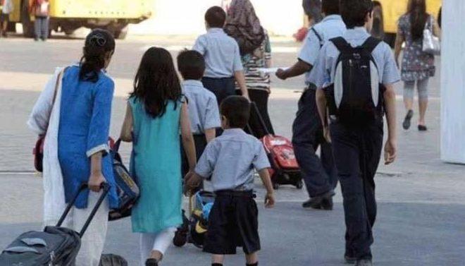 پنجاب کے بعض اضلاع اور کے پی میں اسکول کالجز کھل گئے