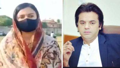 Sonia Sadaf and Usman Dar