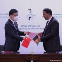 Afghanistan Kabul - China hilft Flutopfer