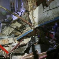 Bangladesh Building Explosion