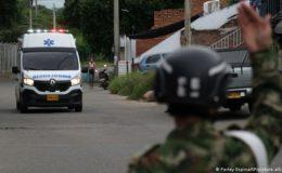 کولمبیا میں فوجی اڈے پر بم دھماکا، درجنوں زخمی