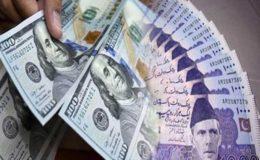 روپے کے مقابلے ڈالر کی قدر میں اضافے کا رحجان جاری