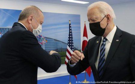 بائیڈن سے ملاقات سفارتی تعلقات کے ایک 'نئے دور' کا آغاز ہے: ایردوآن