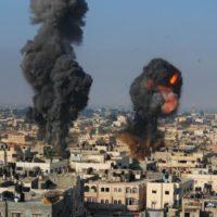 Israel Explosion in Gaza