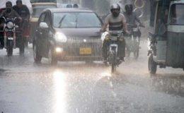 کراچی میں آج تیز ہواؤں کے ساتھ بارش کا امکان