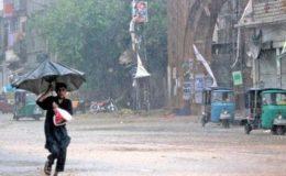 رواں ہفتے کراچی سمیت سندھ بھر میں گرج چمک کے ساتھ بارشوں کی پیشگوئی