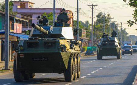یورپی یونین اور برطانیہ کی میانمار کی فوجی جنتا پر نئی پابندیاں