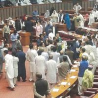 National Assembly Commotion