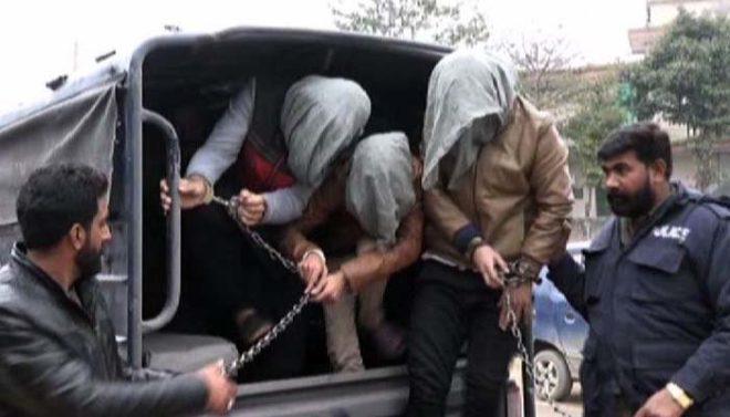 لاہور: زیورات کی مارکیٹ میں ڈکیتی کرنیوالے ملزمان چند گھنٹوں میں گرفتار