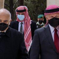 Prinz Hassan Bin Talal and Prinz Hamzah