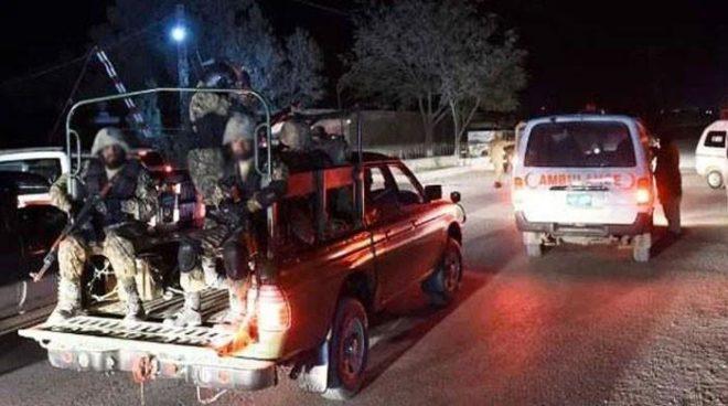 کوئٹہ اور تربت میں ایف سی اہلکاروں پر حملے، 4 اہلکار شہید