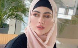 سابق اداکارہ ثنا خان کا اپنے حجاب پر تنقید کرنے والے کو جواب