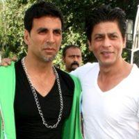 Shah Rukh Khan and Akshay Kumar