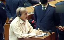 تین روز کی ہلڑ بازی کے بعد بالآخر شہباز شریف کی بجٹ پر تقریر، حکومت پر شدید تنقید