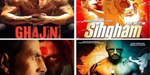 تامل فلموں کی ریمیک بلاک بسٹر بالی وڈ فلمیں