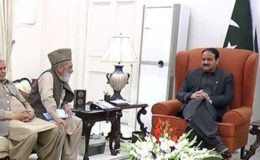 عثمان بزدار سے (ن) لیگ اور پیپلزپارٹی کے اراکین اسمبلی کی ملاقات