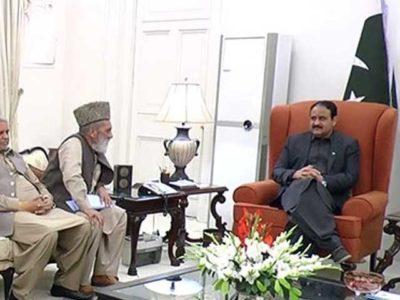 Usman Bazdar Meeting