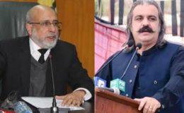 علی گنڈاپور کیخلاف کارروائی ہو رہی ہے: چیف الیکشن کمشنر آزاد کشمیر