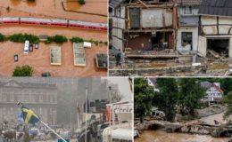 جرمنی اور بیلجیئم میں طوفانی بارشوں سے ہلاکتوں کی تعداد 92 ہو گئی