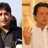 Imran Khan and Bilawal Bhutto