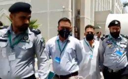 توہین آمیز تقریر کیس، ملزم مسعود الرحمان 14 روزہ جوڈیشل ریمانڈ پر جیل منتقل