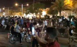 صوبہ اھواز میں ایرانی سکیورٹی فورسز نے نہتے مظاہرین پر گولی چلا دی
