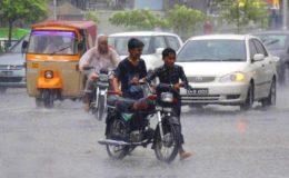 پاکستان: مون سون بارشیں جاری، حادثات میں 3 افراد جاں بحق