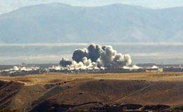 امریکا کا افغانستان میں طالبان کے ٹھکانوں پر فضائی حملہ