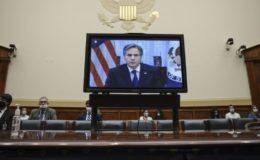 کانگریس کے دھواں دار اجلاس میں بلینکن کا افغانستان سے انخلا کا دفاع