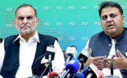 الیکشن کمیشن نے الزام تراشی پر فواد چوہدری اور اعظم سواتی کو نوٹس جاری کر دیے