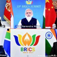 BRICS Virtuelles Gipfeltreffen 2021