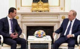 پوٹن اور اسد کی ملاقات کے دوران ترکی اور امریکا کی مذمت