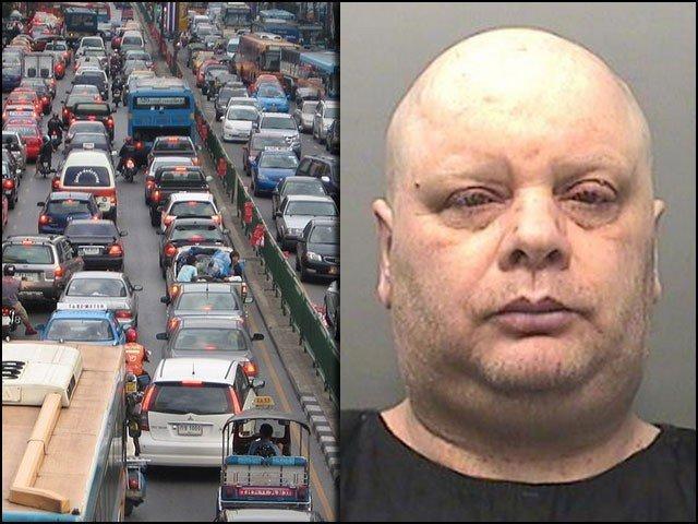 ٹریفک جام کرنے پر شہری کو ساڑھے تین سال قید کی سزا