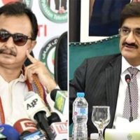 Haleem Adil Sheikh and Murad Ali Shah