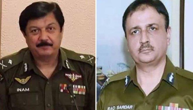 راؤ سردار علی خان آئی جی پنجاب پولیس تعینات