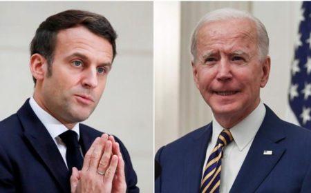 بائیڈن اور میکرون کا رابطہ، فرانس کا اپنا سفیر واشنگٹن واپس بھیجنے کا فیصلہ