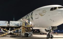 پی آئی اے کے بیڑے میں اضافہ، لیز پر حاصل کردہ ائیربس طیارہ اسلام آباد پہنچ گیا
