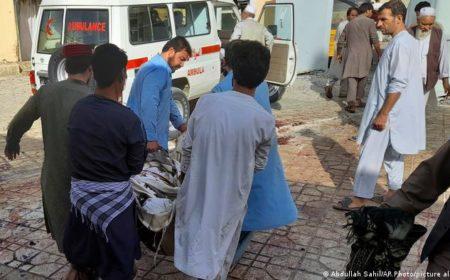 افغانستان، مسجد میں بم دھماکا، تقریبا 40 افراد ہلاک